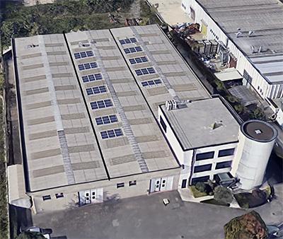 Solar energy - Omma Building